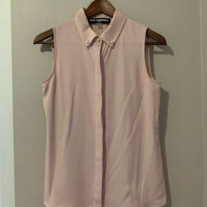NWOT Karl Lagerfeld sleeveless blouse